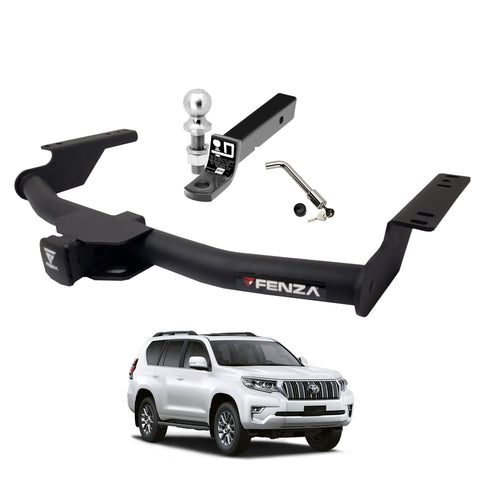 Fenza Towing Kit (Frame Receiver + Ball Mount + Pin Lock) for 2010-2019 Toyota Prado