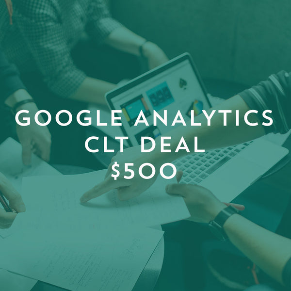 Google Analytics Workshop - Charlotte, NC (October 7-8, 2017)