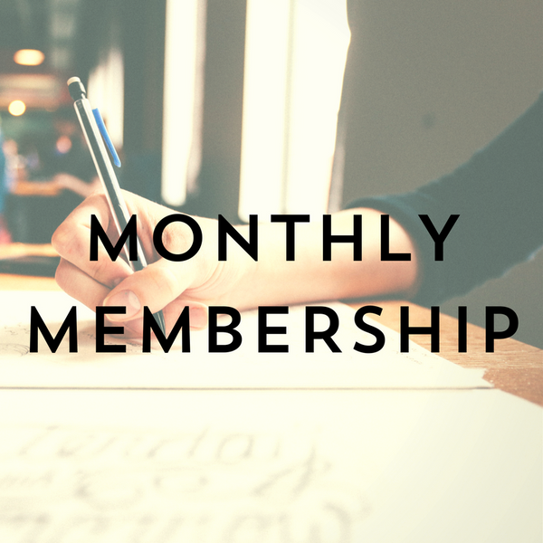 Monthly Membership in Coding - First Month Free