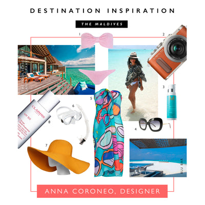 Destination Inspiration: Designer Anna Coroneo's Guide To The Maldives