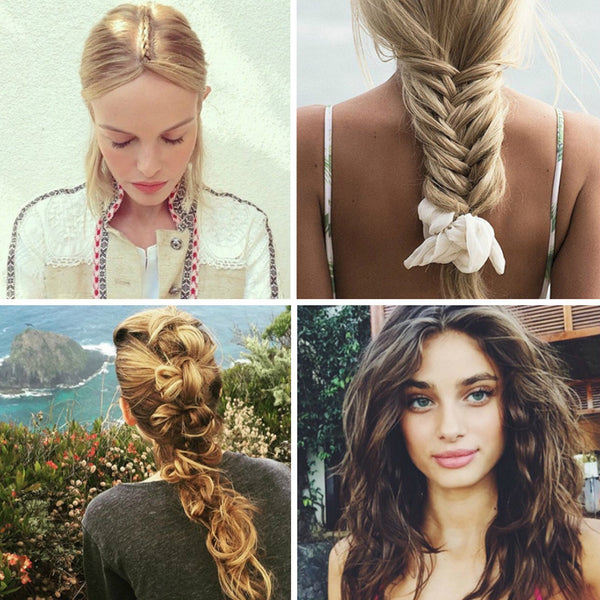 10 Instagram-Worthy Beach Hairstyles Without The Fuss