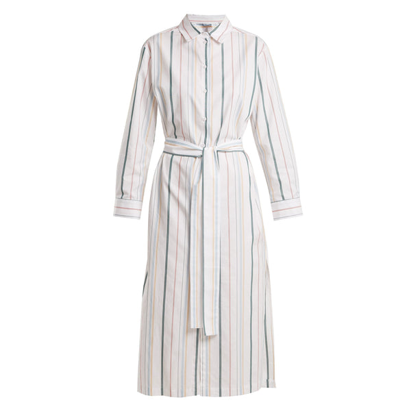 Asceno Striped Shirt Dress