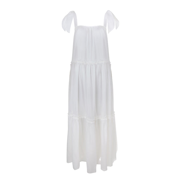 Clube Bossa White Peggy Dress