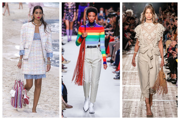 Fringed Bag Trend Spring/Summer 2020 Catwalk Images