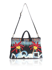 Elise Embroidered Tote Bag