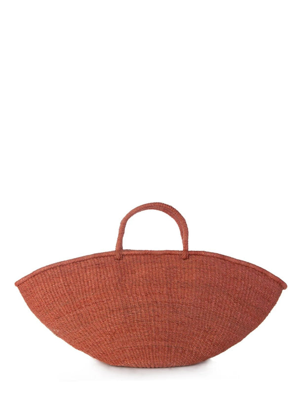 Coral Red Kai Shell Tote Bag