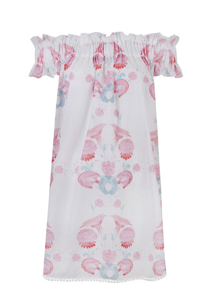 Twilights Love Flowers Tunic Dress