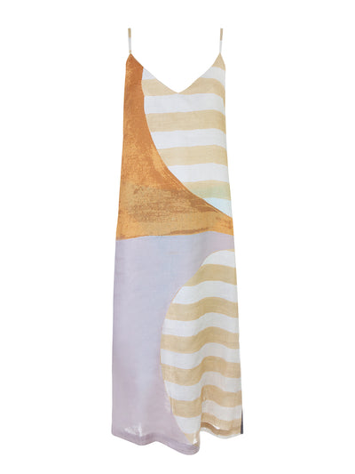 Rafaela Linen Slip Dress