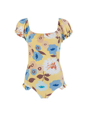 Floral Semilly One Piece