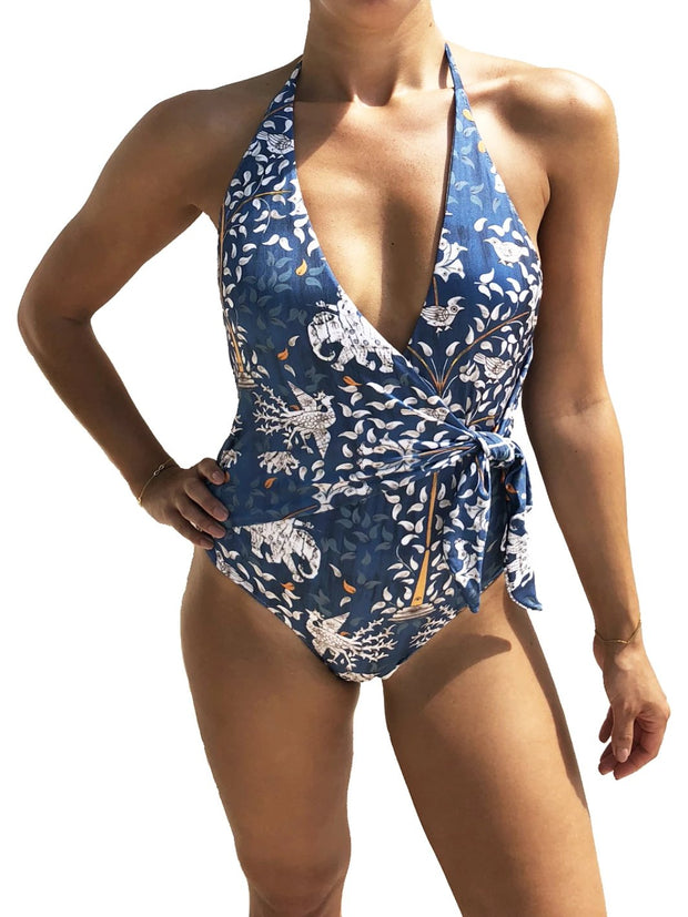 Blue Ganesh One Piece