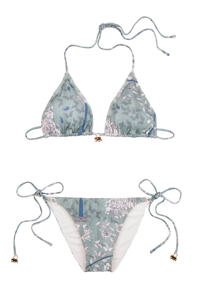 Mint Green Ganesh Triangle Bikini