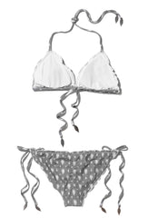 Ikat Spots Dakota Triangle Bikini