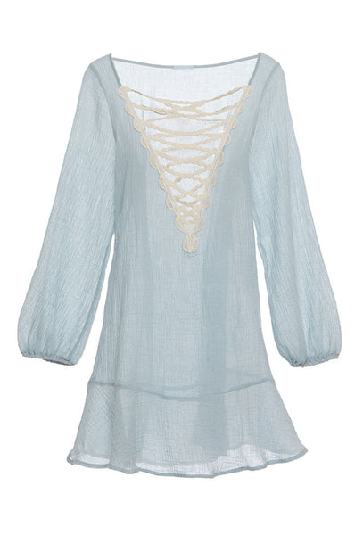 Sea Breeze Natalya powder blue dress