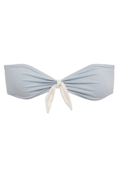 So Solid Lola Powder Blue Bikini Top