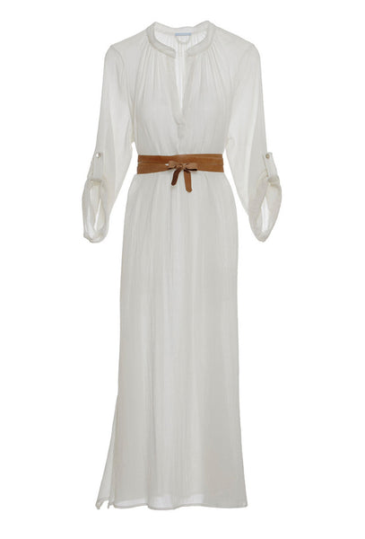 Summer of Love Haven cream maxi dress