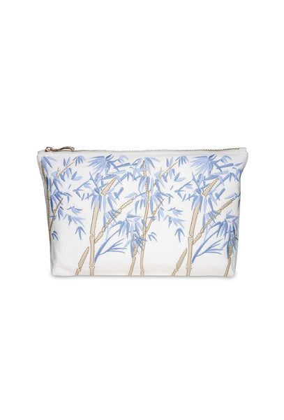 Bambou Blanc Clutch Bag