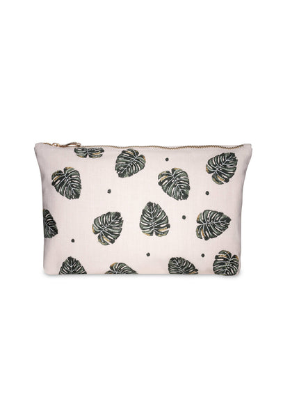 Jungle Leaf Clutch Bag