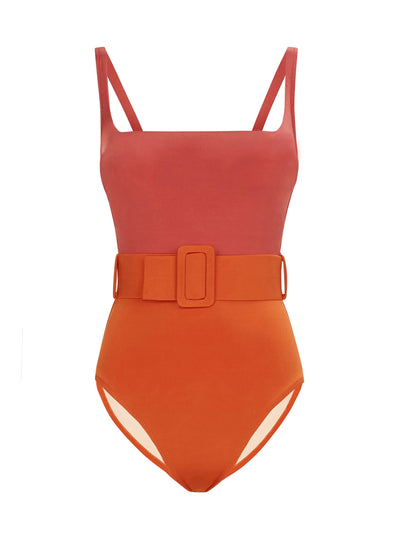 Cassandra Belted One Piece