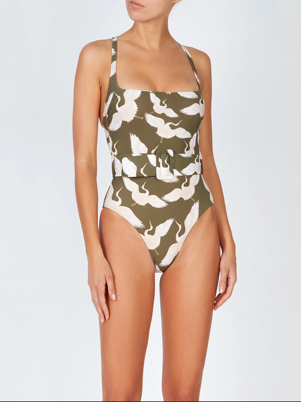 Khaki Cassandra One Piece