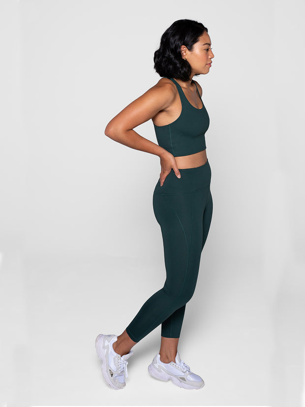 Moss High-Waisted Leggings