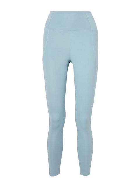Sky Blue High-Waisted Leggings