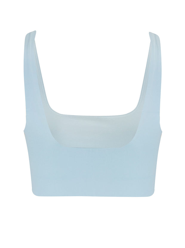 Sky Blue Tommy Sports Bra
