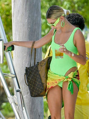 New Lime Classic One Piece