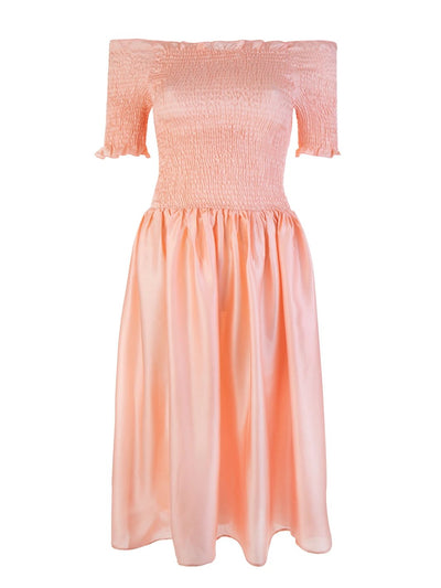 Pink Sabine Smocked Dress