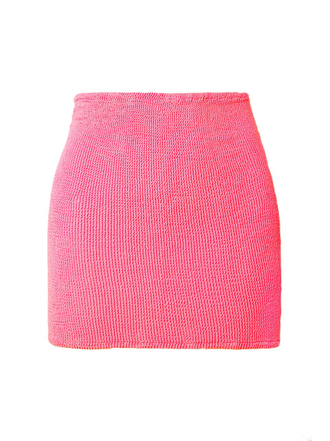 Bubblegum Pink Mini Skirt