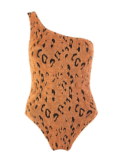 Metallic Leopard Nancy One Piece