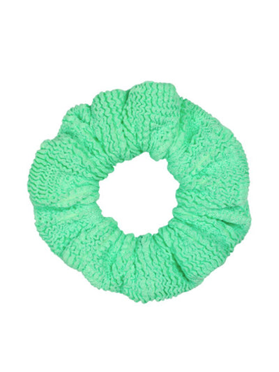 New Lime Hair Scrunchie