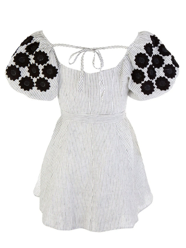 Daisy Embroidered Dress
