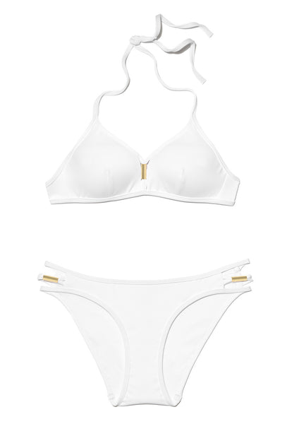 Illuminate White Moulded Bralette Bikini