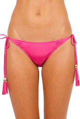Flamingo Pink Lustre Underwired Bikini Push up
