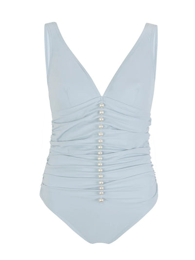 Powder Blue Underwire One Piece