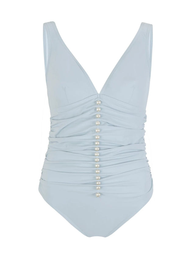 Powder Blue Amma Underwire One Piece