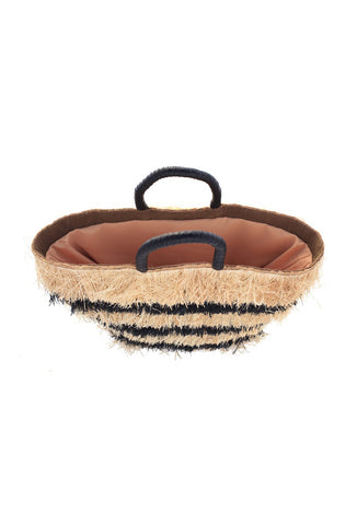 Black Pinata Basket Bag