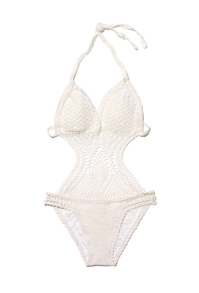 Grease Monkey Crochet Swimsuit