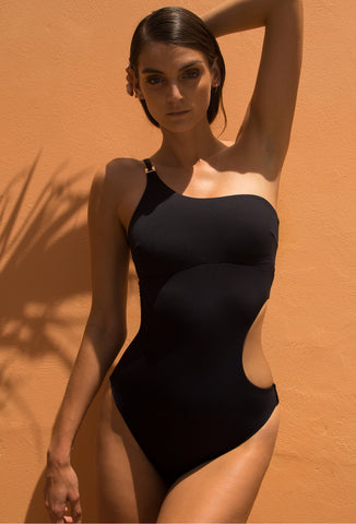 Black Ava One Piece