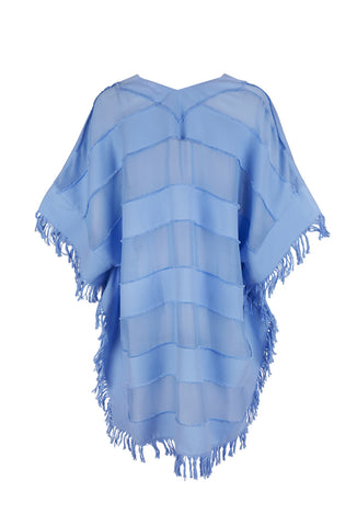 Sky Blue Arthemis Embroidered Kaftan