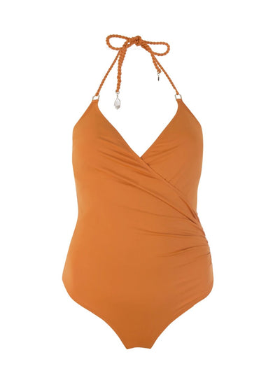 Orange Greta One Piece - SALE