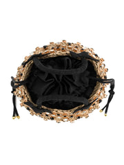 Black Small Nina Twist Bag