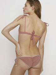 Withered Rose Pink Topless Bikini Bottoms - FINAL SALE ITEM