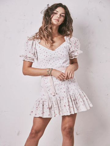 Floral Smocked Tina Dress
