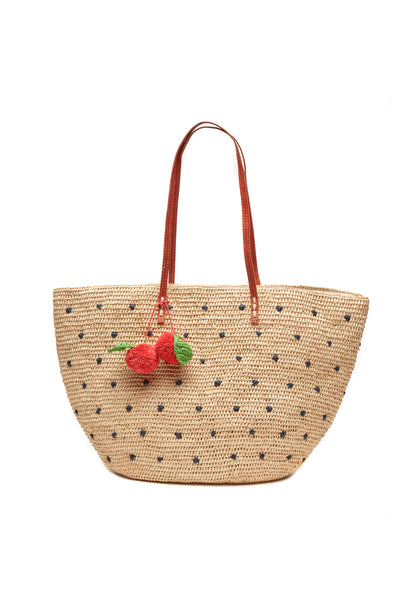 Florence Cherry Tote Bag