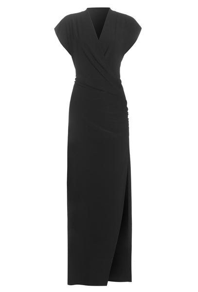 Omo cap sleeve Daphne gown