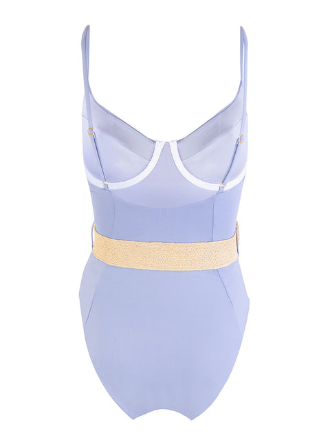 Powder Blue Danielle One Piece