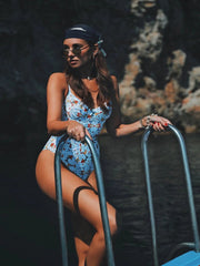 Tile Print One Piece