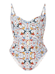 Tile Print Danielle One Piece