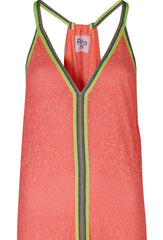 Watermelon Inca Maxi Dress